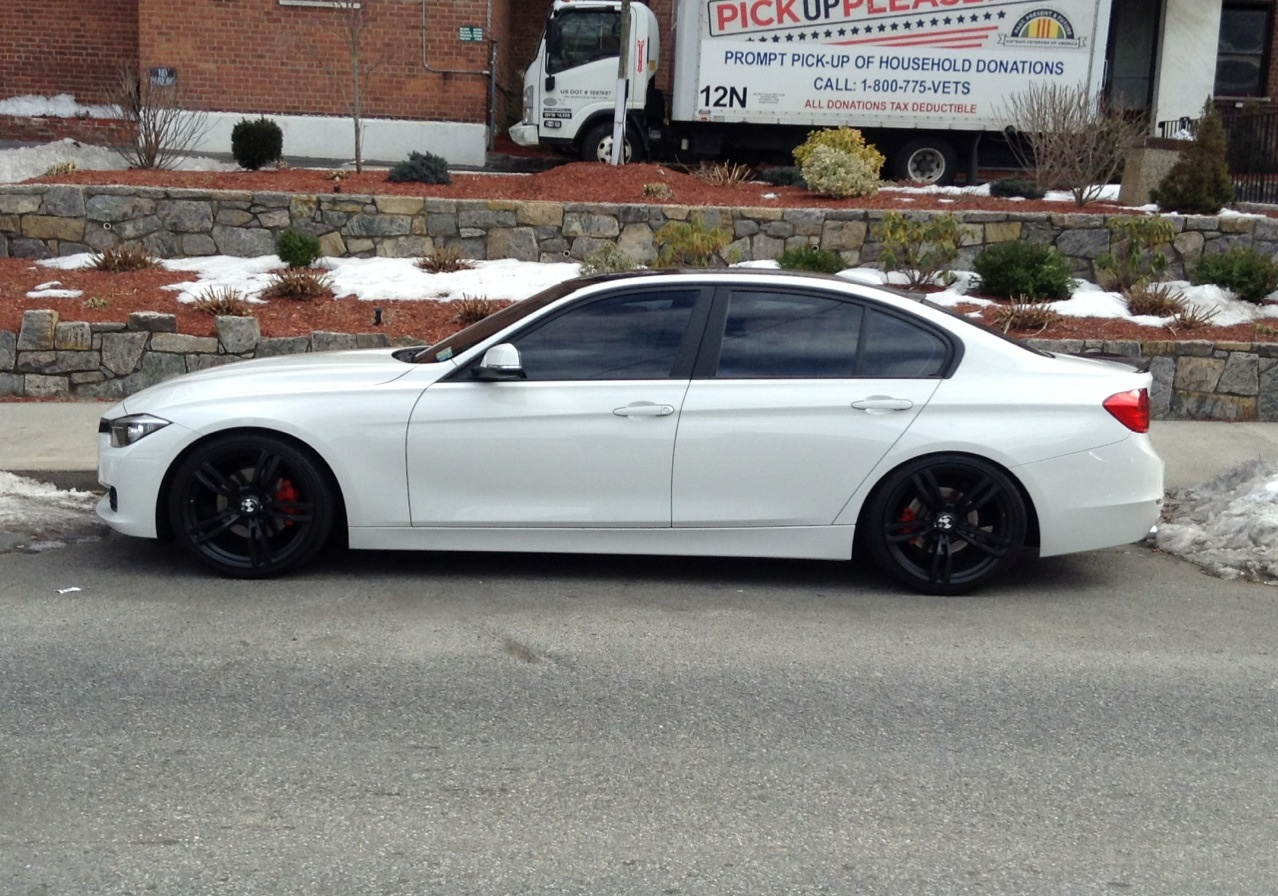 2012 328i Alpine White W Mods Teaser Pic Iphone