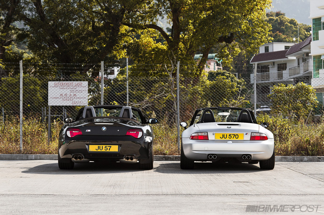 Bmw M Roadsters Z4 Vs Z3 Photoshoot