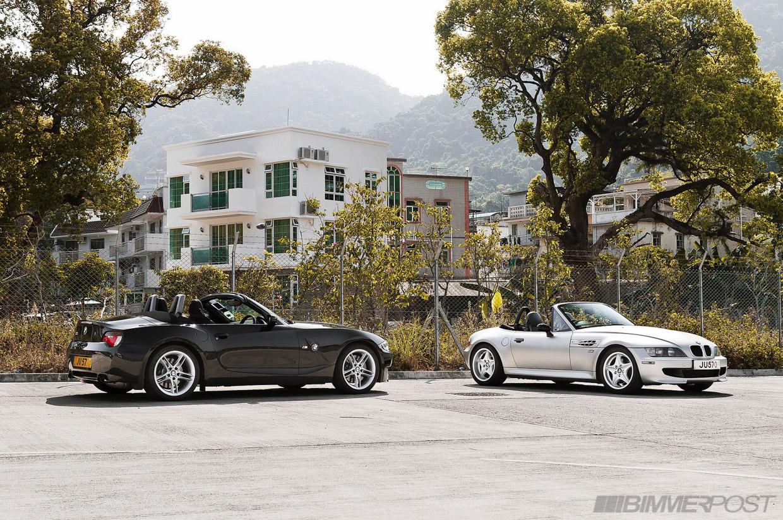 Bmw M Roadsters Z4 Vs Z3 Photoshoot