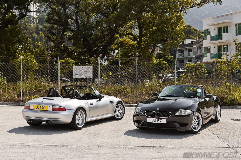 BMW 3 Series bmw z4 matte BMW M Roadsters: Z4 vs Z3 Photoshoot