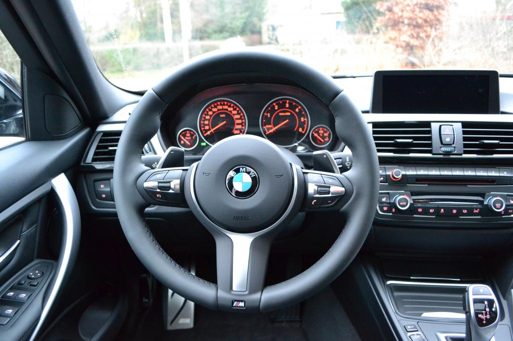 F31 330d M Sport Touring In Bmw Individual Carbon Black