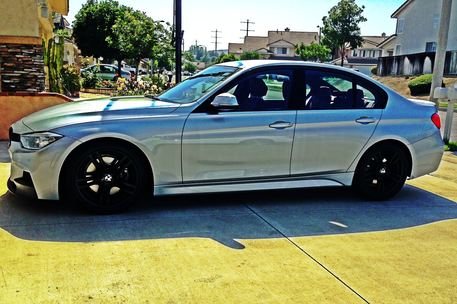 Bmw F30 400m Oem Rims With Tires And Tpms Dipped
