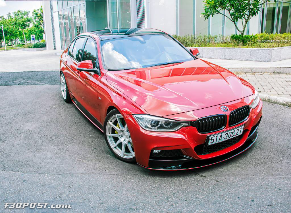Just An Ordinary F30 M Performance 3 Series From Vietnam