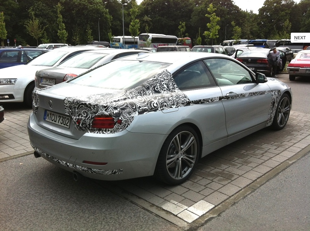 Bmw 435i Coupe F32 Sport Line Prototype Bares Nearly All