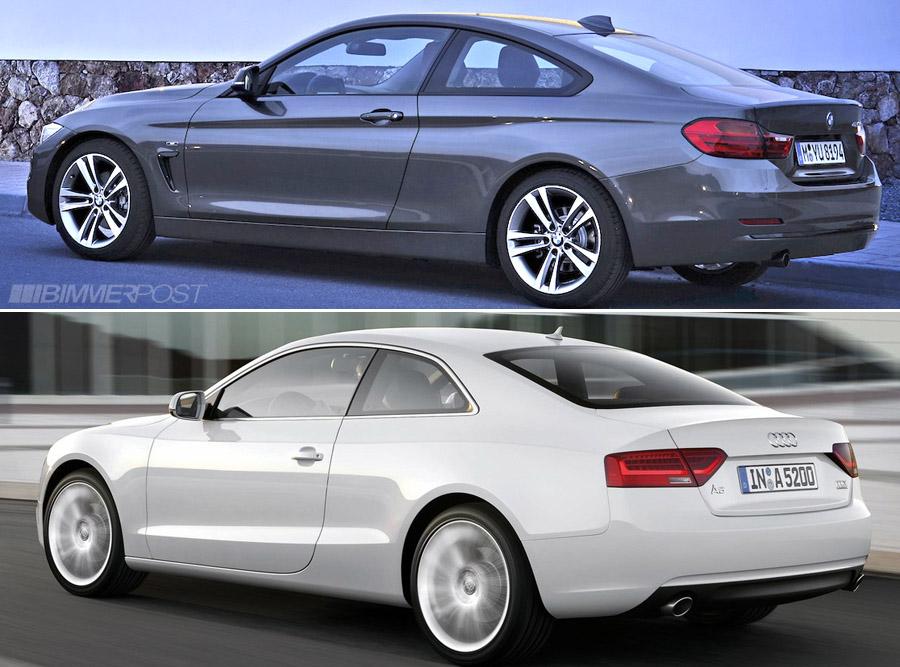 Comparo Bmw 4 Series Coupe Versus Audi A5 S5