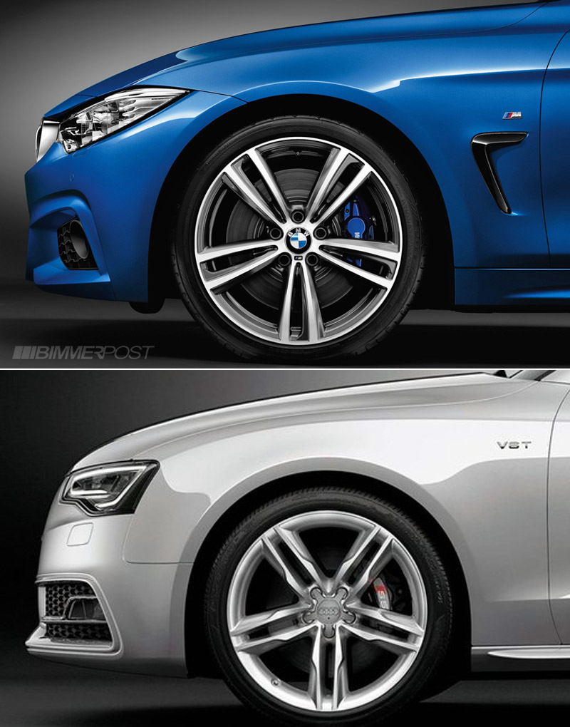 BMW 5 Series audi a5 vs bmw 5 series Comparo: BMW 4 Series Coupe versus Audi A5 / S5