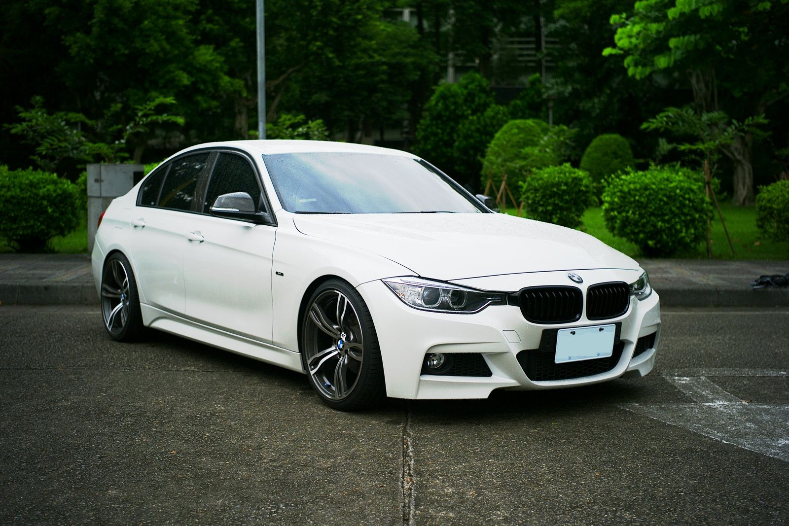F30 M Sport Style 320 With Kw V3 And Few Other Cf Parts