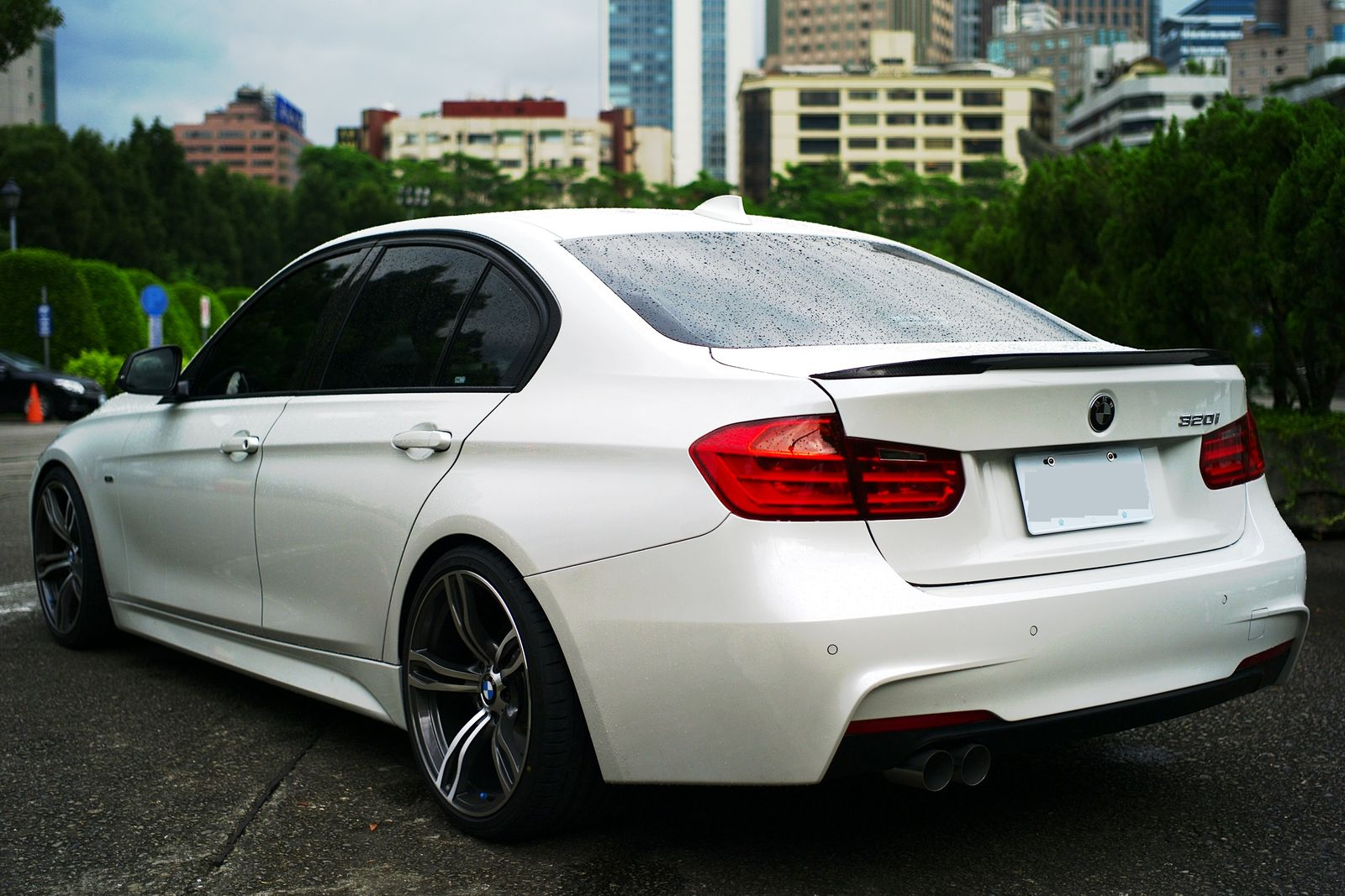 F30 M-Sport STYLE 320 with KW V3 and few other CF Parts