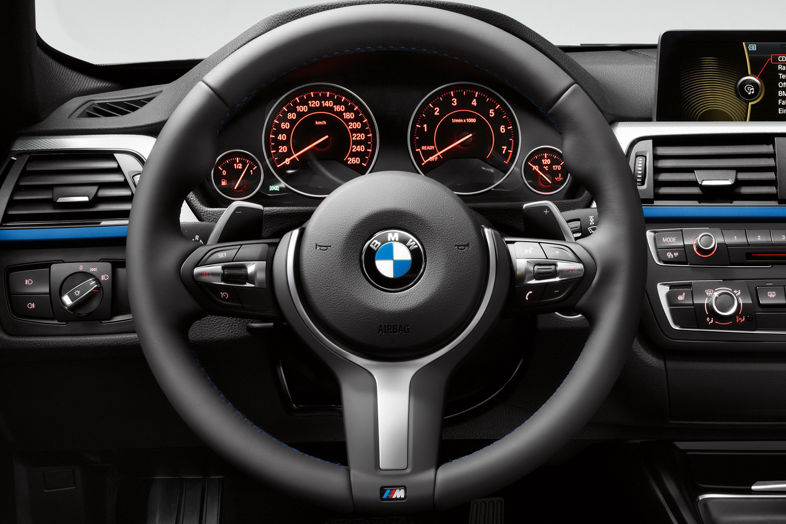 bmw f30 buttons explained