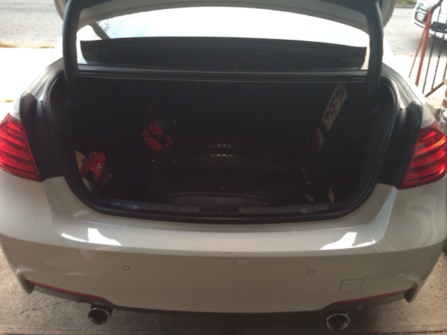 F30 Spare Tire Solution