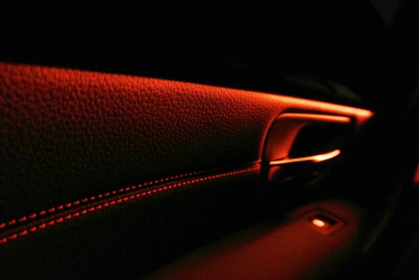 Ambient Lighting In Black Interior Photos