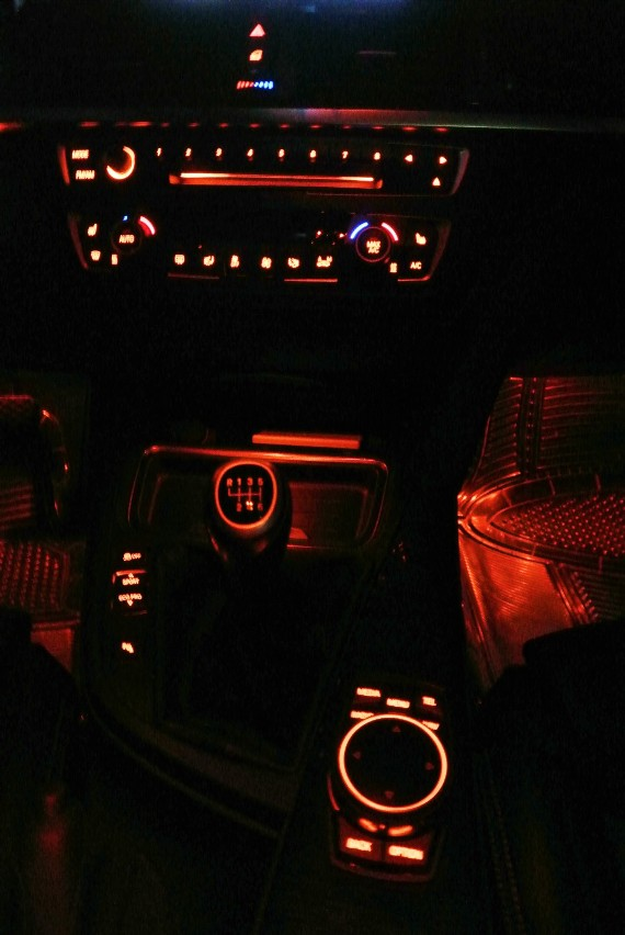 Ambient Lighting In Black Interior Photos
