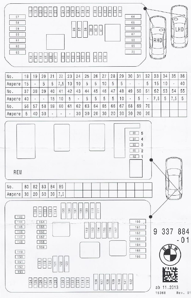 2009 bmw 528i fuse diagram fuse box diagram bmw 3 series and 4 series forum  f30 f32  fuse box diagram bmw 3 series and 4