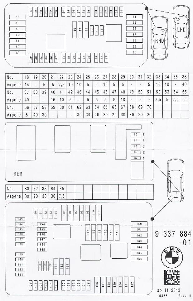 2017 Mini Cooper Fuse Box Diagram