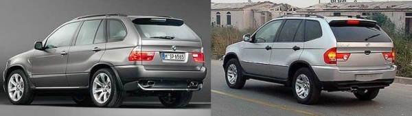Bmw Ceo Fuming Over Chinese X5 Knockoff