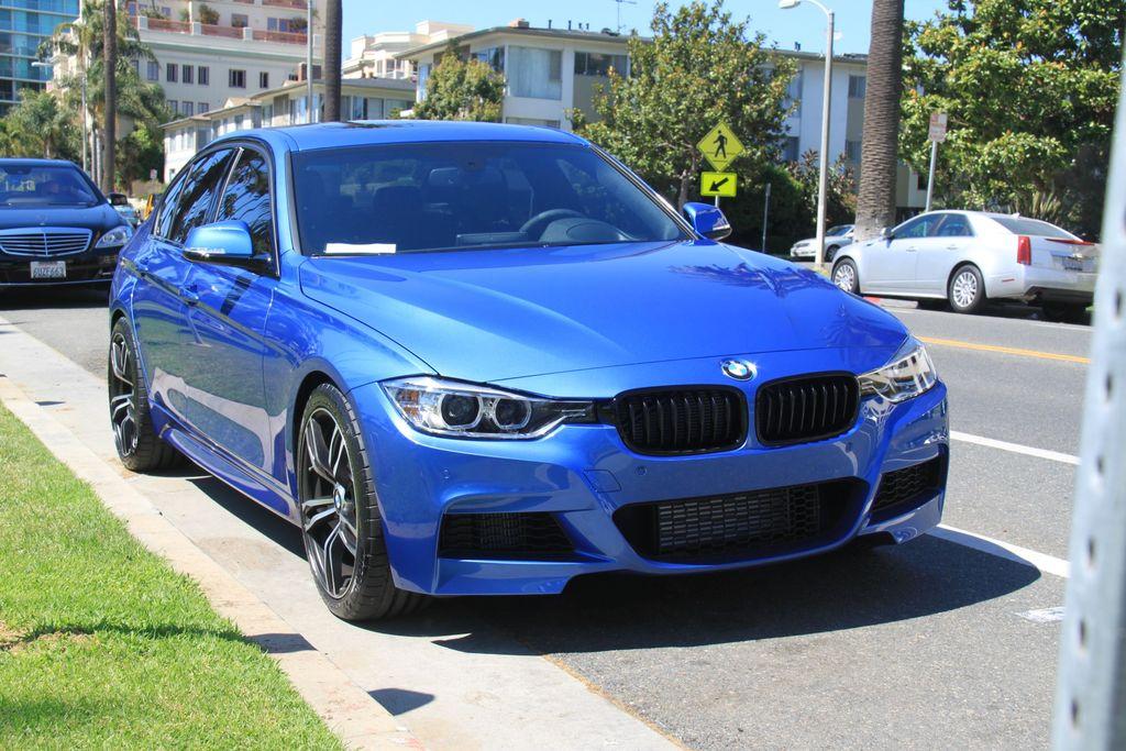 2013 Bmw 335i Sedan 6mt M Sport Estoril Blue Loaded 7k