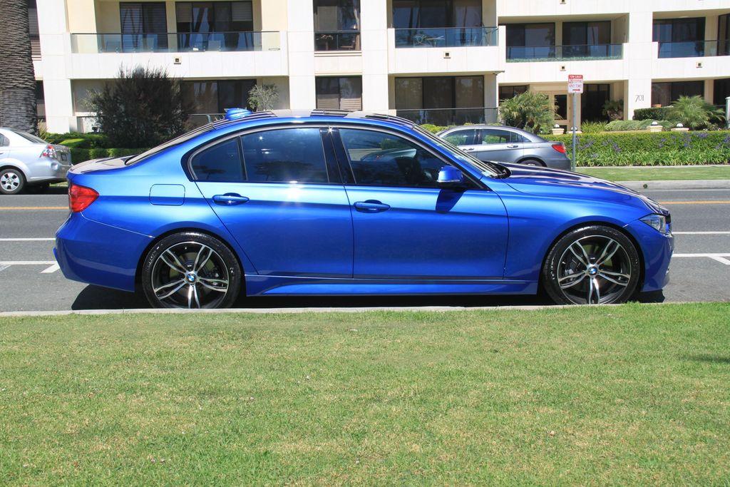 2013 BMW 335i Sedan 6MT M Sport Estoril Blue Loaded 7k miles MINT