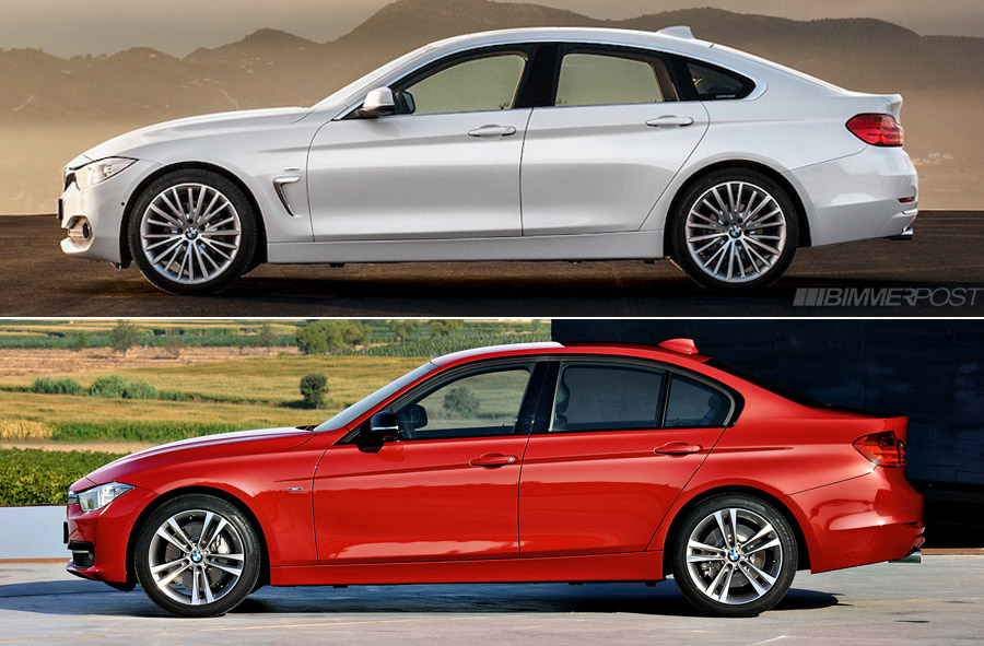 Comparo Bmw 4 Series Gran Coupe Vs 3 Series Sedan F30 And 4 Series Coupe F32