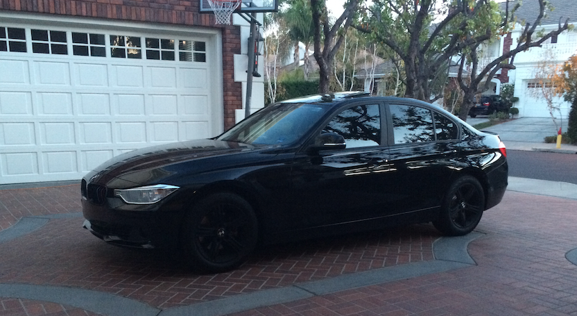 Modified Blacked Out F30 328i Pictures