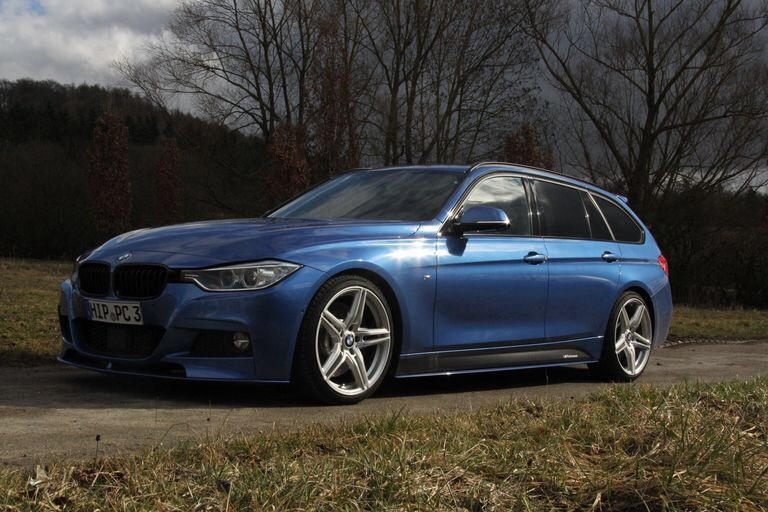 F31 330d Touring Estoril Blue