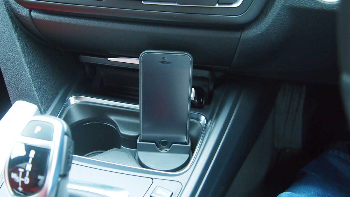 Cup Holder Iphone Dock