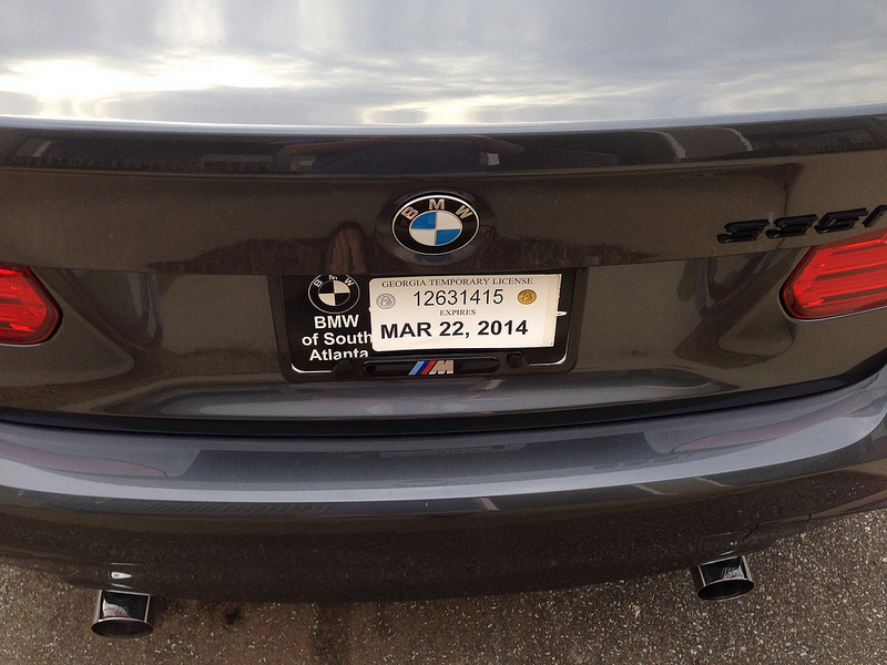 Outstanding Bmw Oem License Plate Frame Collection - Custom Picture ...