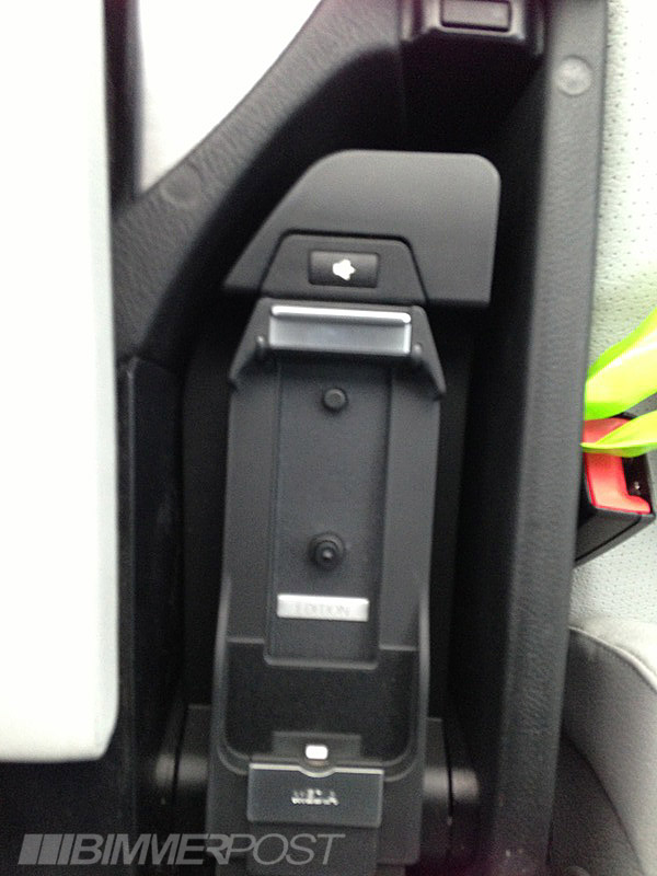 bmw iphone 5 snap in adapter cradle now available. Black Bedroom Furniture Sets. Home Design Ideas