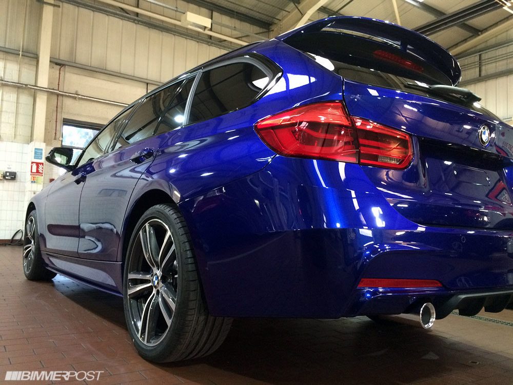 my individual san marino blue f31 340i w m performance. Black Bedroom Furniture Sets. Home Design Ideas