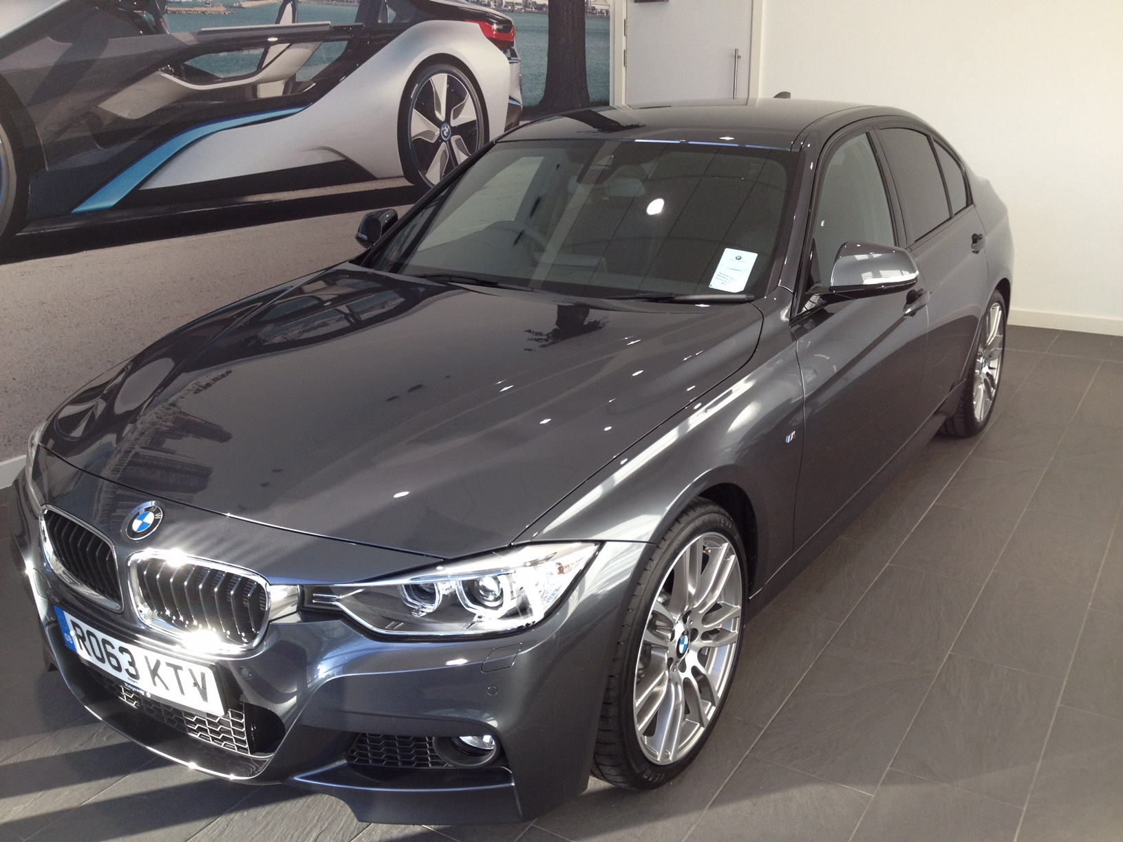 sold 2013 bmw f30 330d m sport auto high spec. Black Bedroom Furniture Sets. Home Design Ideas