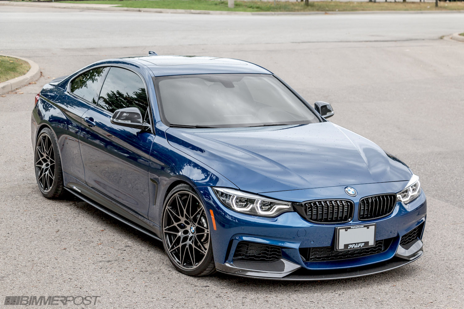 2018 bmw 440i m performance edition avus blue individual. Black Bedroom Furniture Sets. Home Design Ideas