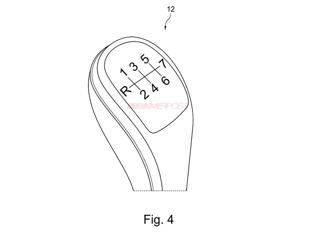 Patent Reveals BMW 7 Speed Manual Transmission Design!