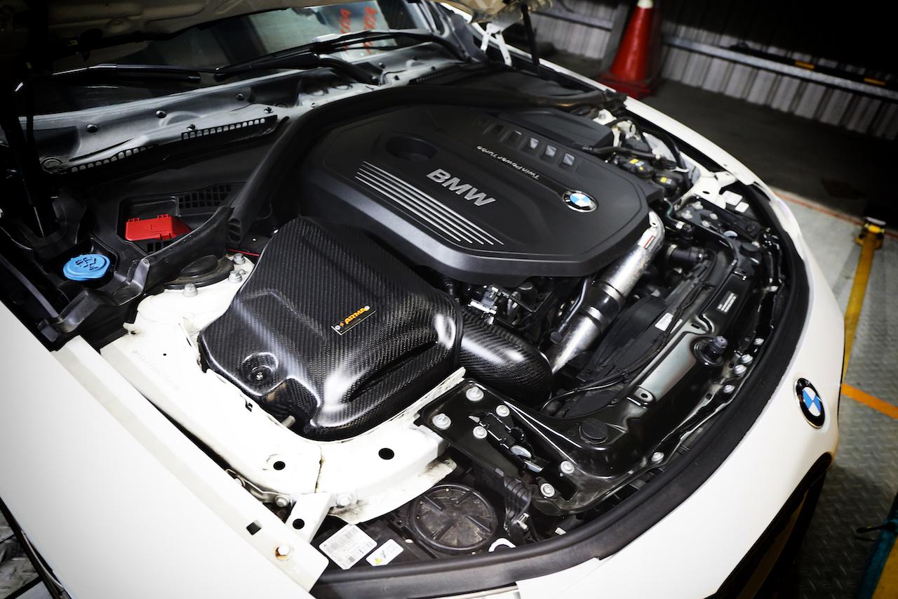 Name:  BMW F30 340 B58 carbon fiber for Armaspeed cold air intake .jpg Views: 142 Size:  731.2 KB