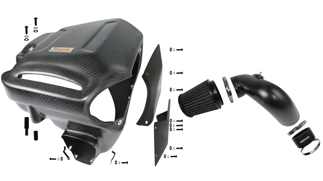 Name:  Armaspeed BMW F30 340 B58 carbon fiber cold air intake .jpg Views: 119 Size:  264.1 KB