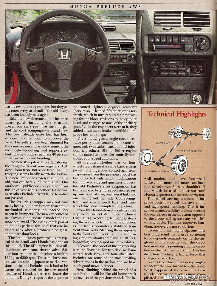 Kpsquared S 1988 Honda Prelude Si 4ws Bimmerpost Garage