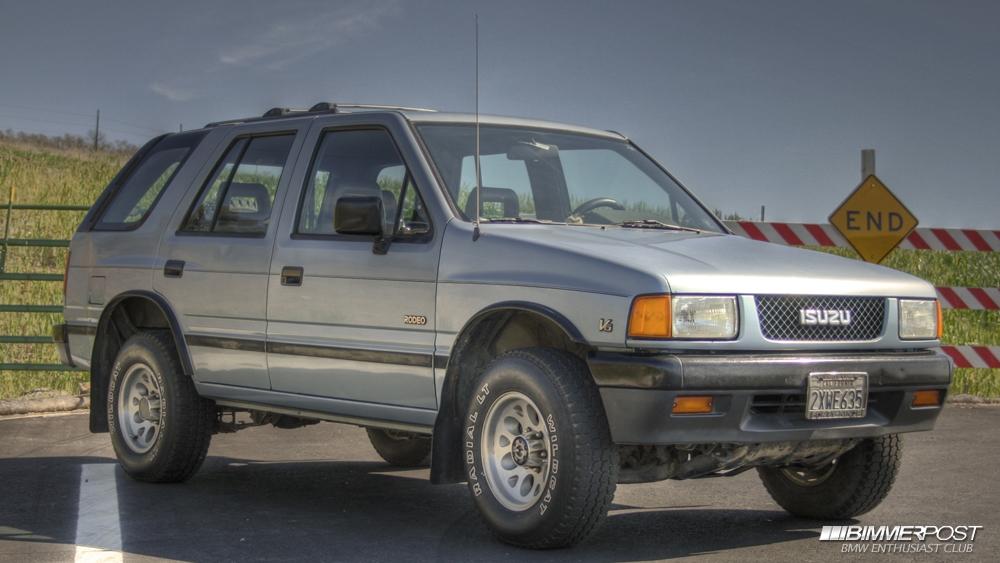 Plasmasmp S 1991 Isuzu Rodeo S Bimmerpost Garage
