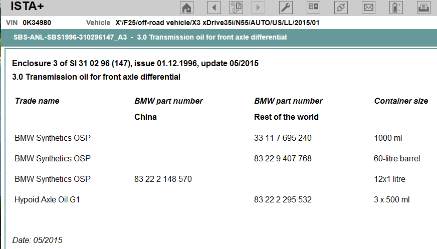Front and Rear Differential Oil Change - XBimmers | BMW X3 Forum