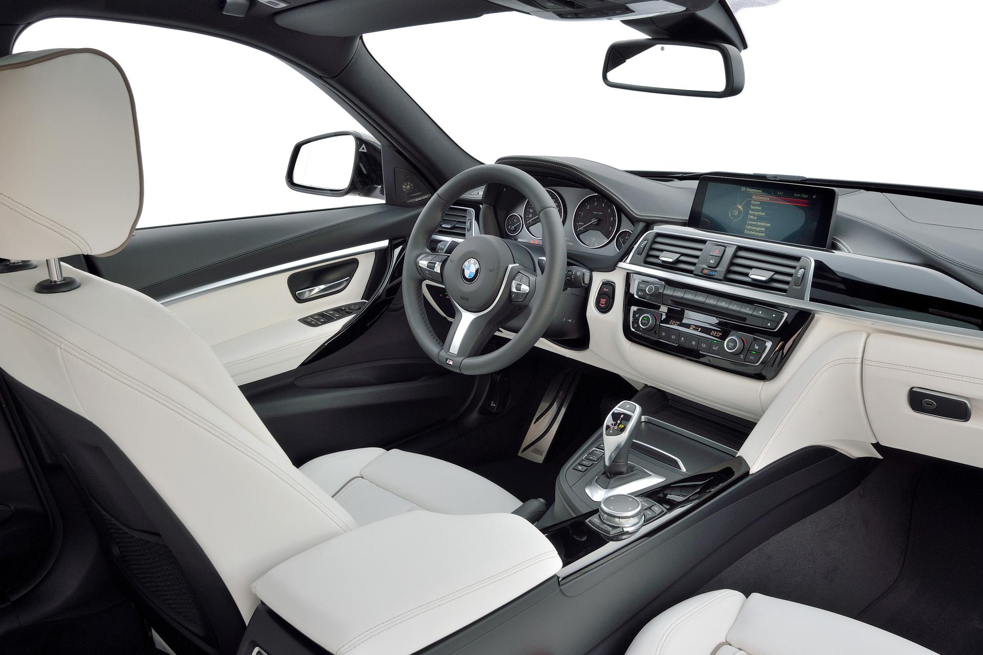 F30 LCI interior
