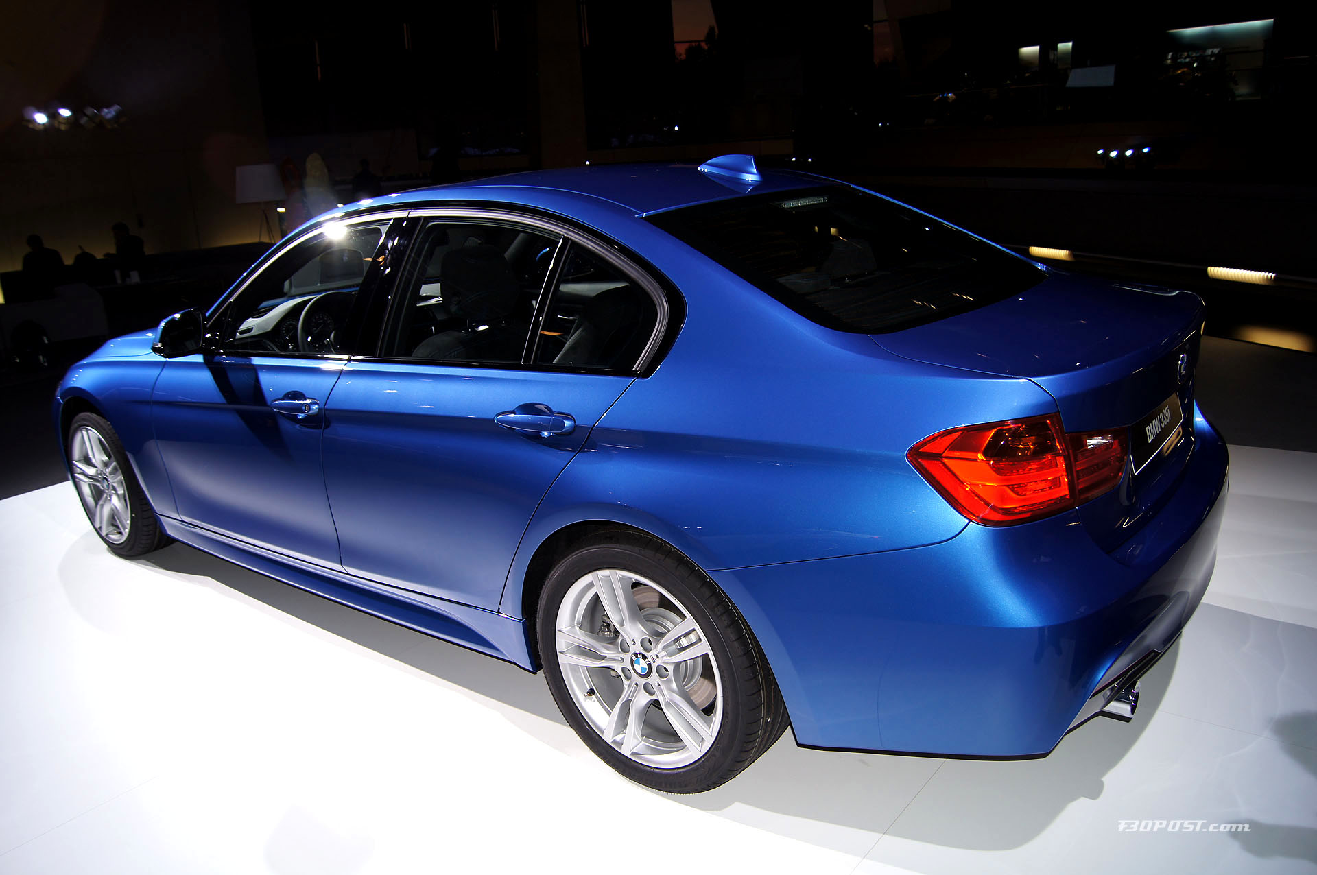 bmw f30 3 series m sport info and photos. Black Bedroom Furniture Sets. Home Design Ideas