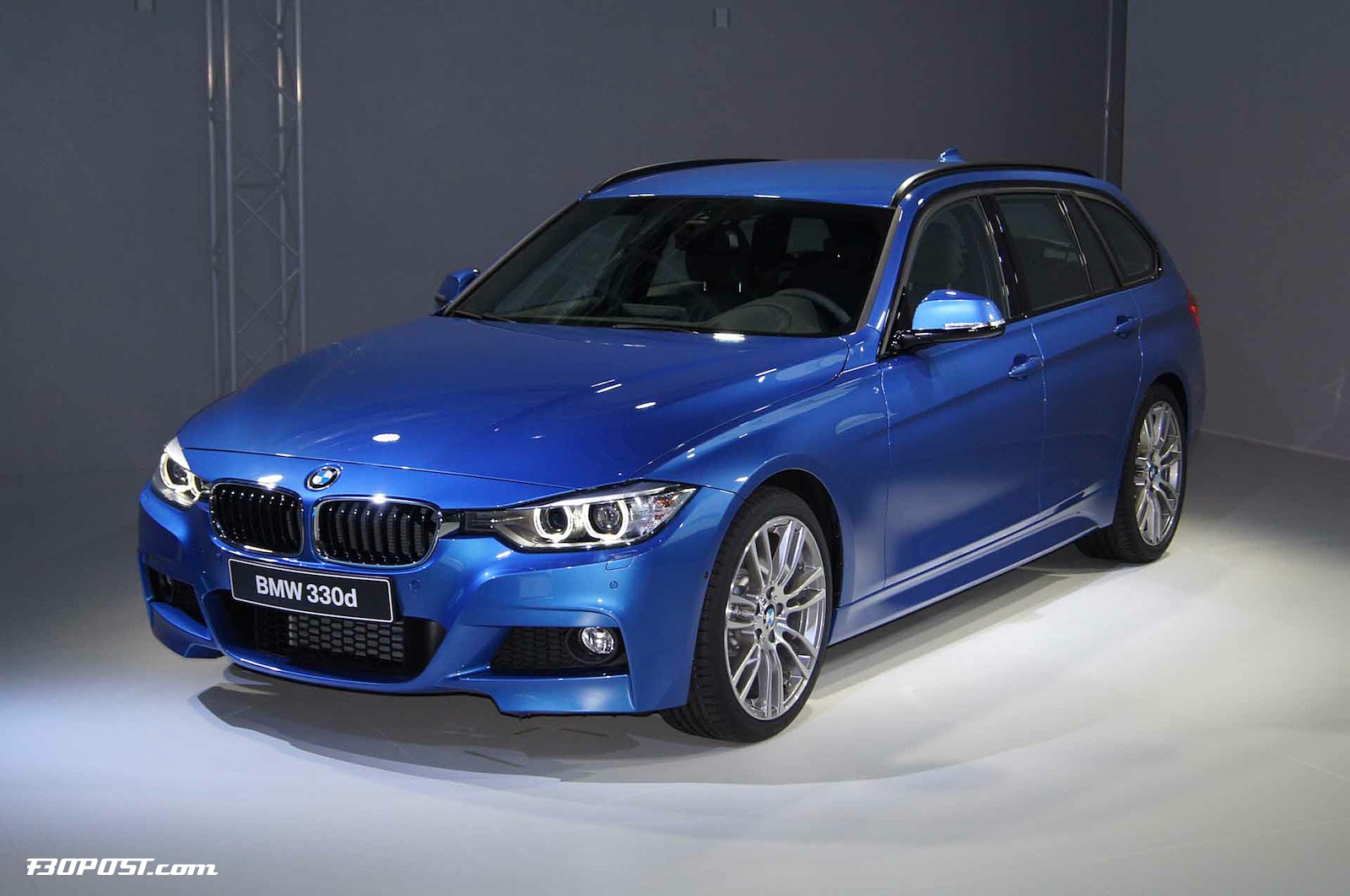 m sport f31 3 series touring officially shown for first time. Black Bedroom Furniture Sets. Home Design Ideas