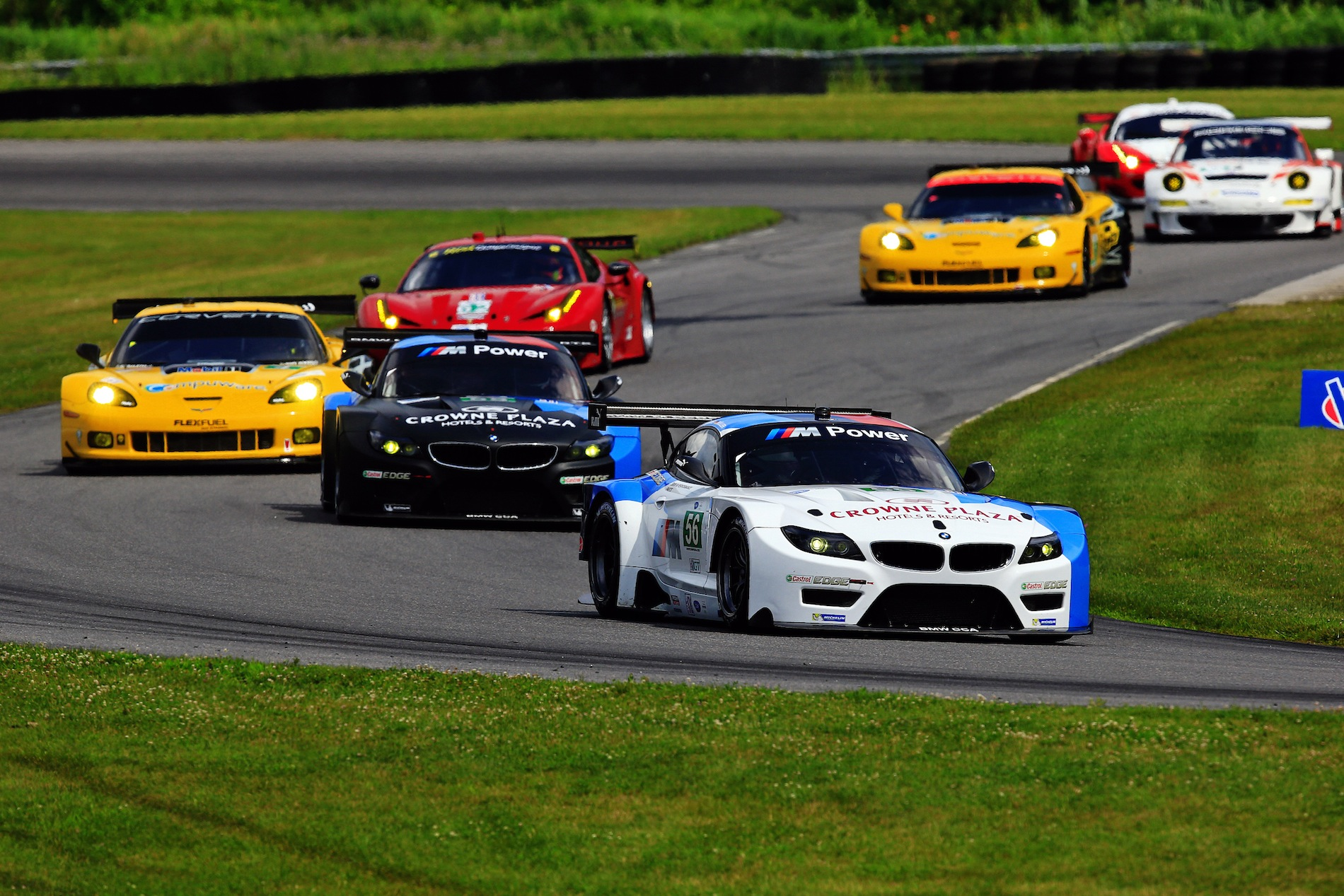 bmw z4 gte wins alms northeast grand prix at lime rock. Black Bedroom Furniture Sets. Home Design Ideas
