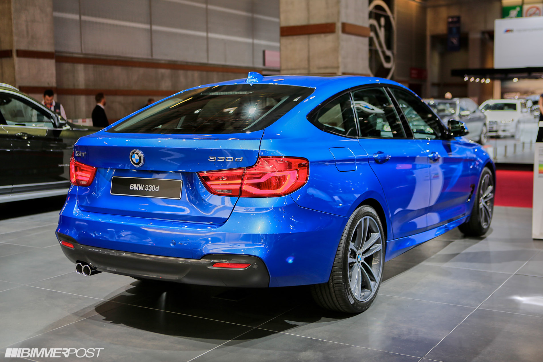 New Bmw 3 Series Gran Turismo Lci Debuts At Paris Auto Show
