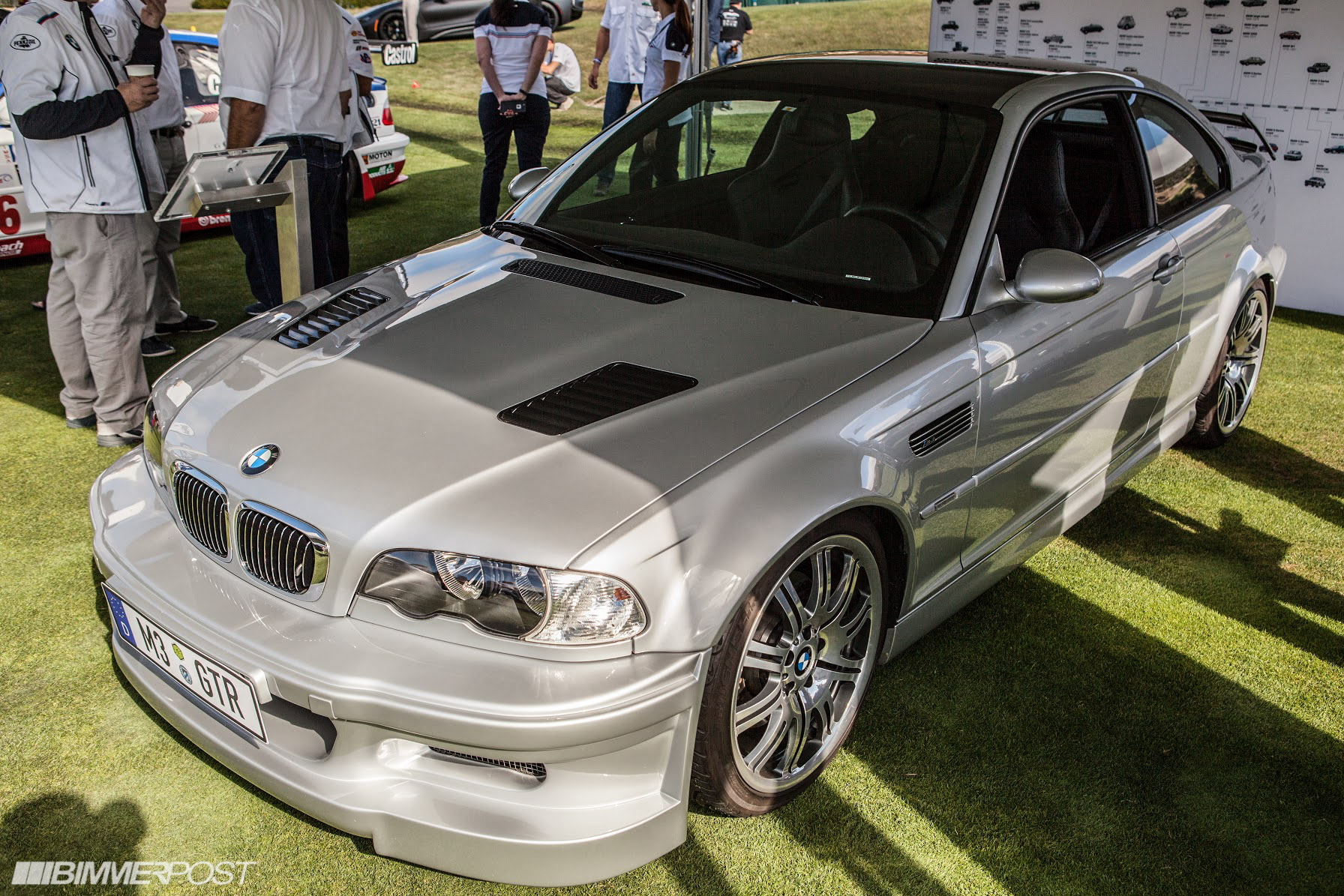 E46 M3 Gtr Race And Road Car Presented At Pebble Beach Live Photos Added Bmw 3 Series And 4 Series Forum F30 F32 F30post