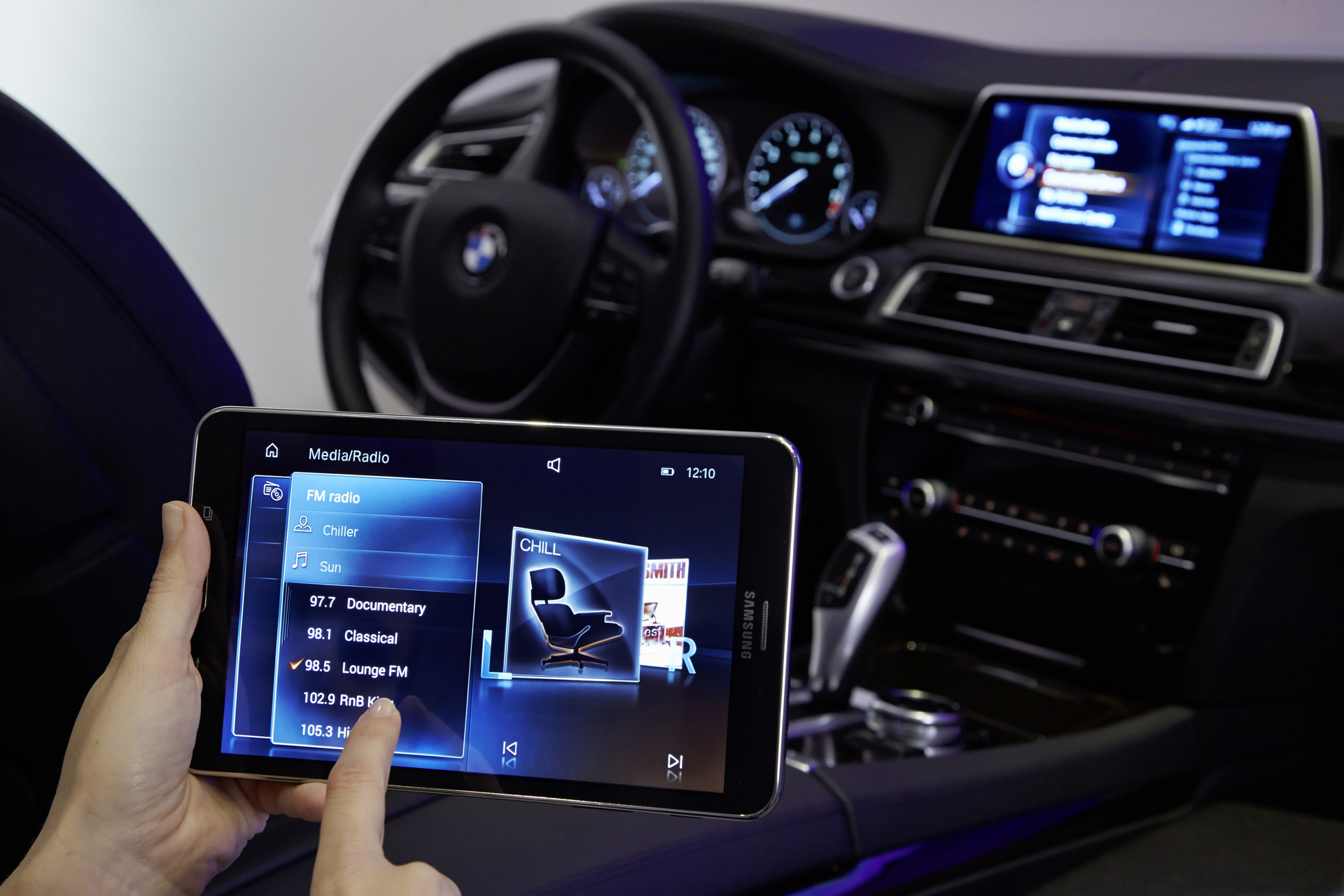 2011 BMW 328I >> Touch Command. iDrive control from the rear
