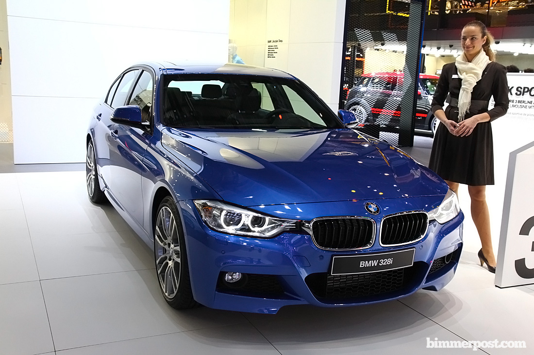 Geneva 2012 F30 328i M Sport Updated With Video