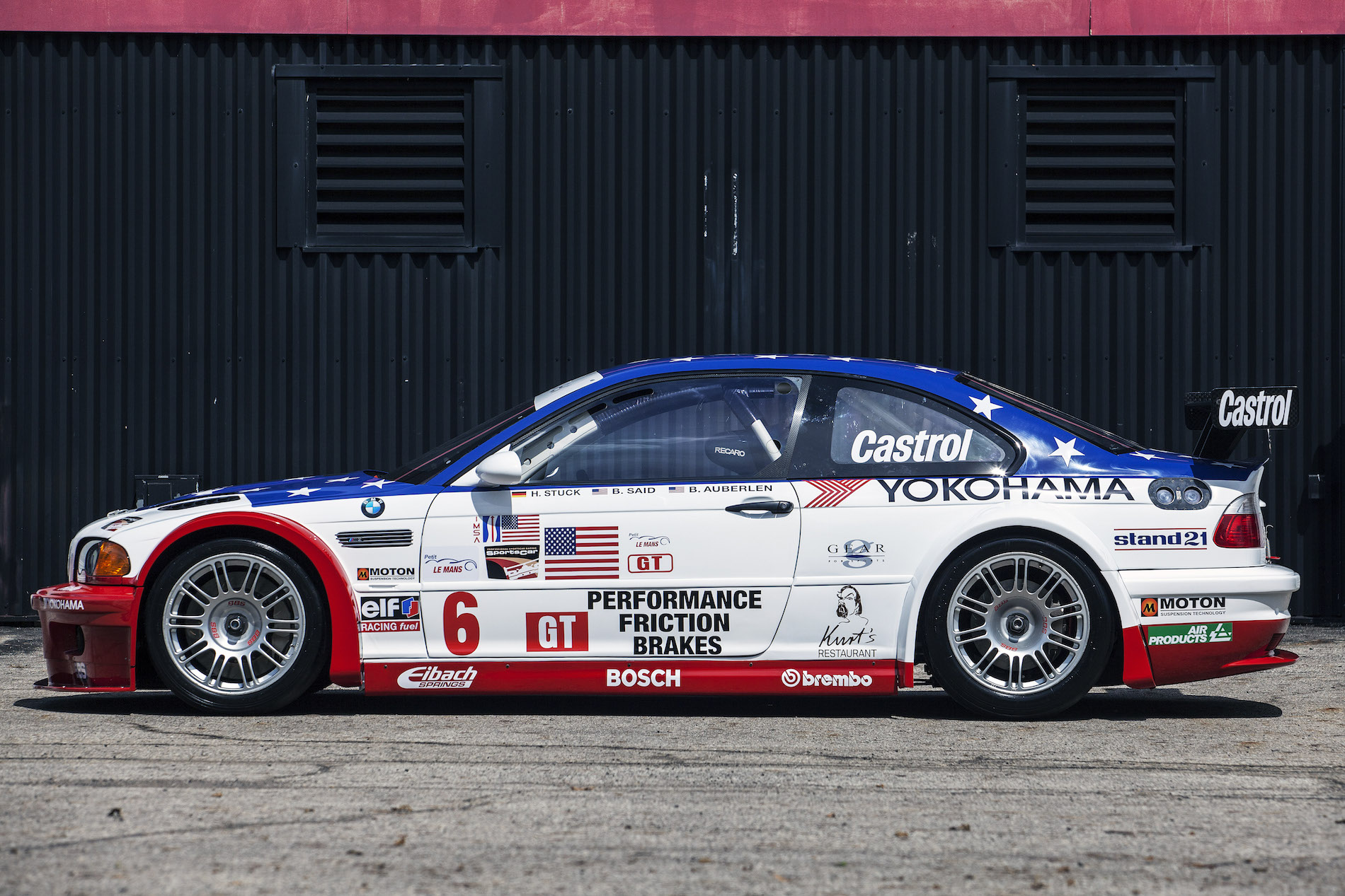 e46 m3 gtr race and road car presented at pebble beach. Black Bedroom Furniture Sets. Home Design Ideas